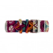 Red Ethnic Fabric Strap