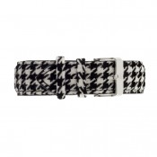 Houndstooth Fabric Strap