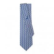 Corbata de seda Azul Elefantes
