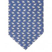 Blue Elephant Tie