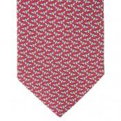 Red Libelula Tie