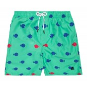 Green Fish Swimsuit