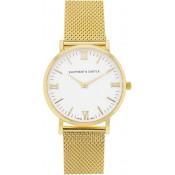 Milanese Golden Arctic Watch