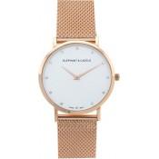 Milanese Rose Gold Swarovski Watch