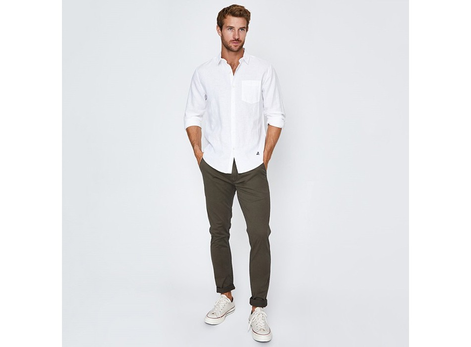 Hamptons 1P Linen Shirt