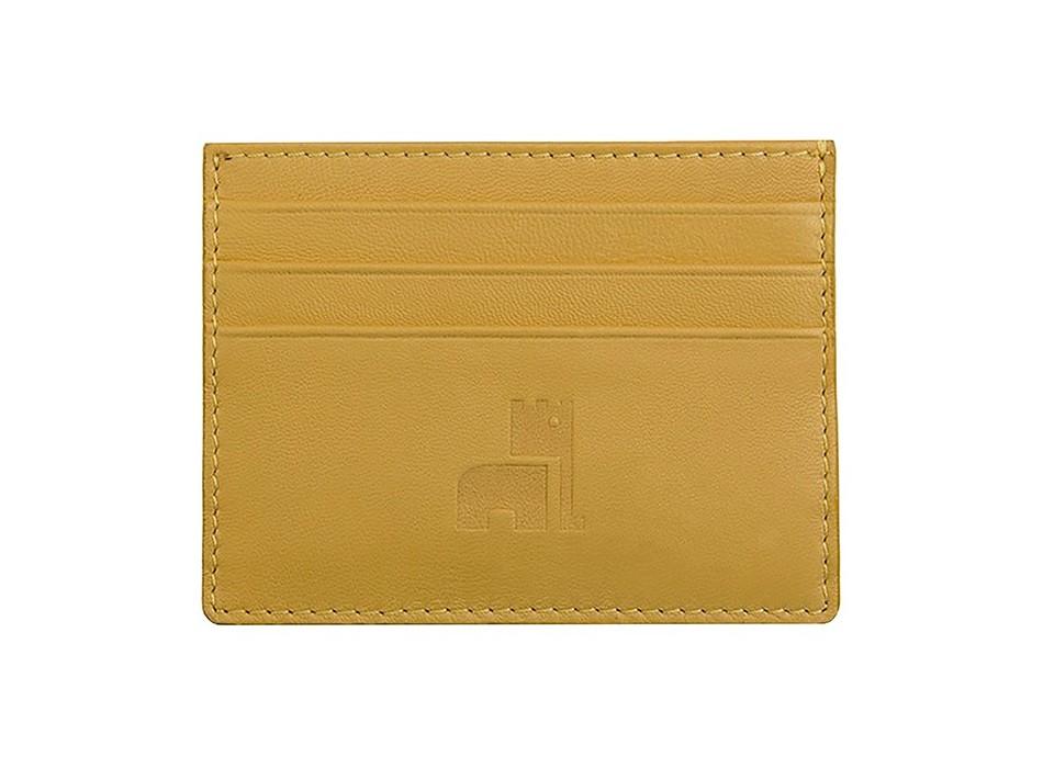 Mustard Nappa Card Holder