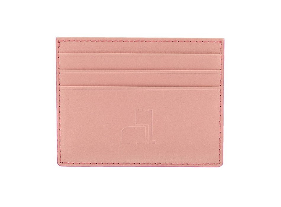 Pink Nappa Card Holder