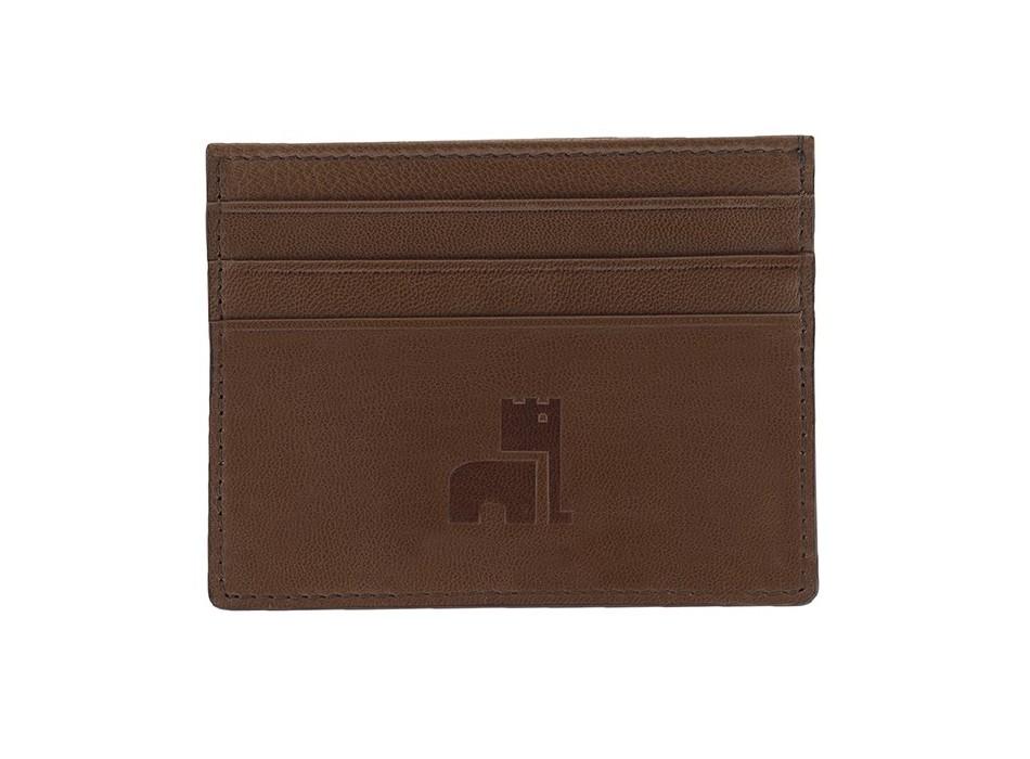 Brown Nappa Card Holder
