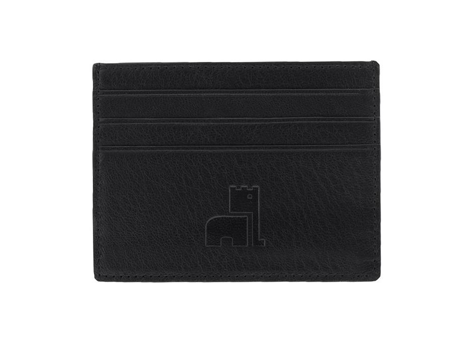 Black Nappa Card Holder