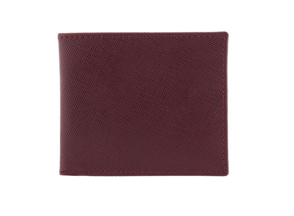 Garnet Saffiano Leather Wallet