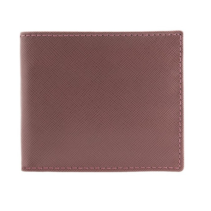 Camel Saffiano Leather Wallet