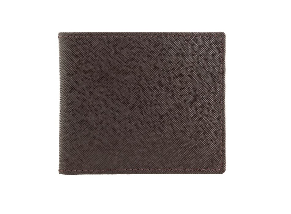 Brown Saffiano Leather Wallet