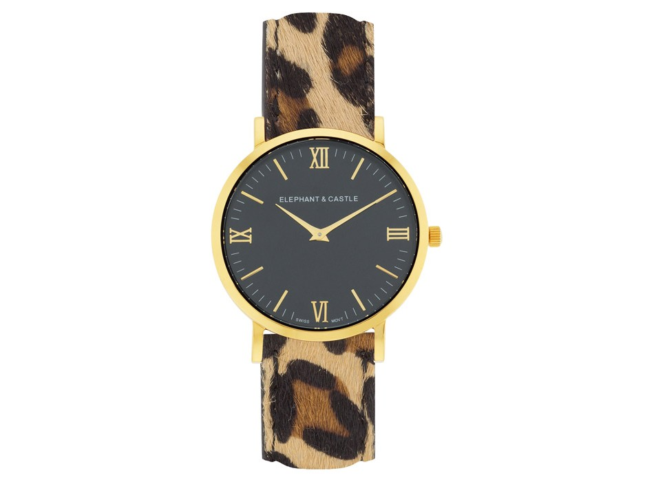 Golden Onyx Safari Leopard