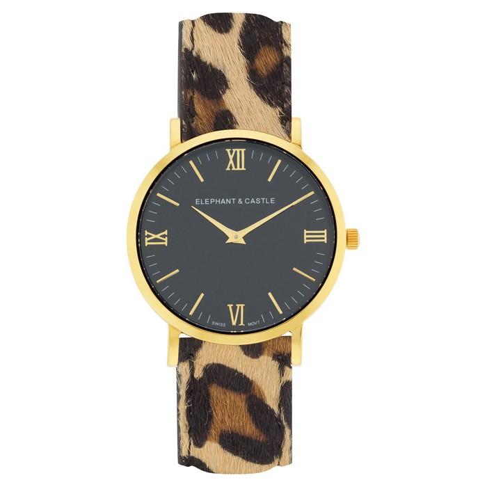 Golden Onyx Safari Leopard